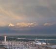 Port en hiver